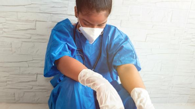 """Covid : plus de la moitié des infirmiers en """"épuisement professionnel"""""""