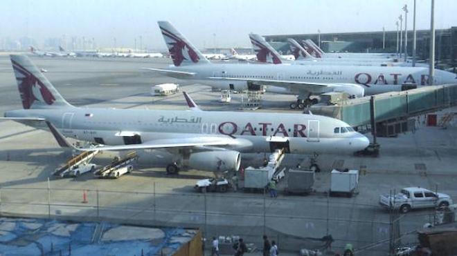 Des passagères ont été forcées de subir des examens gynécologiques à l'aéroport de Doha. ©WikiCommons