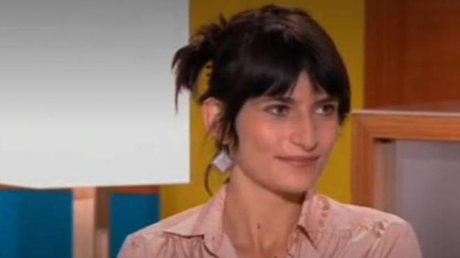 Marion Larat sur le plateau du Magazine de la Santé le 16 octobre 2013.