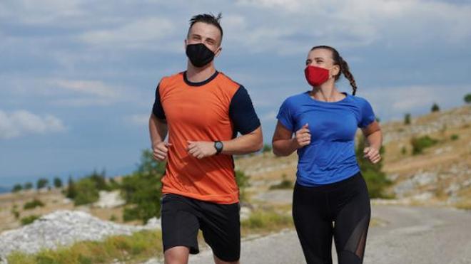 Masque et sport : pas d'impact sur la respiration !