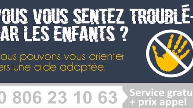Le numéro d'écoute destiné aux pédophiles accessible dans toute la France