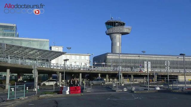 Covid : un centre de dépistage dans l'aéroport de Bordeaux