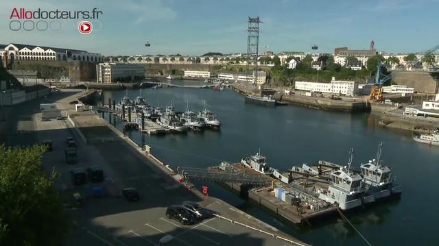 L'hôpital de Brest accueille des patients covid d'autres régions
