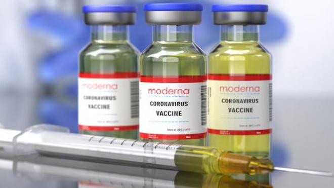 Covid : livraison des premières doses du vaccin Moderna