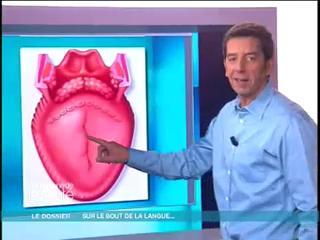 Michel Cymès vous décrit en image l'anatomie de la cavité buccale