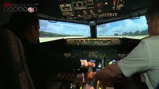 Un simulateur de vol pour vaincre sa peur de l'avion