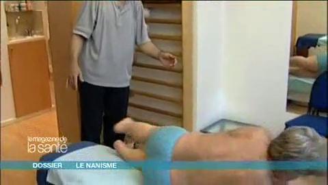 Patrick a une malformation de la colonne vertébrale qui menace de comprimer sa moelle épinière. Il se rend donc régulièrement chez son kinésithérapeute.