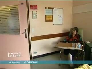Service de pneumologie, de l'hôpital Tenon, dans lequel on traite une centaine de pleurésie par an
