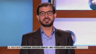 Marina Carrère d'Encausse et Benoît Thevenet expliquent le syndrome d'Ehlers-Danlos.