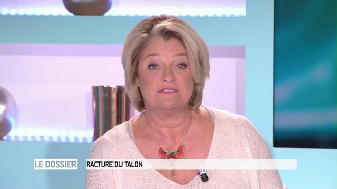 Marina Carrère d'Encausse et Antoine Piau expliquent la fracture du talon