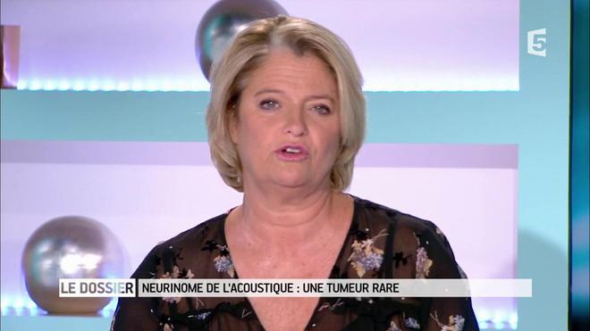 Marina Carrère d'Encausse et Régis Boxelé expliquent le neurinome de l'acoustique