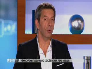 Benoît Thevenet et Michel Cymes expliquent l'hémochromatose.