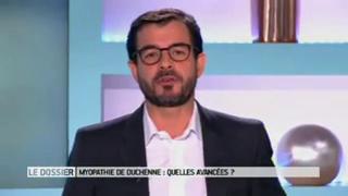 Marina Carrère d'Encausse et Benoît Thevenet expliquent la myopathie de Duchenne