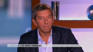 Marina Carrère d'Encausse et Michel Cymes expliquent le rôle des valves cardiaques