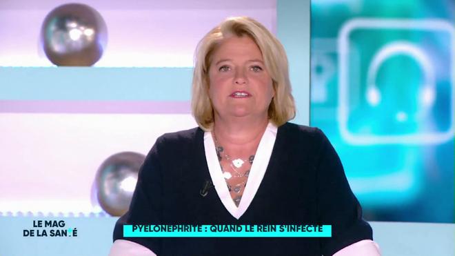 Marina Carrère d'Encausse et Fabien Doguet expliquent les causes de la pyélonéphrite