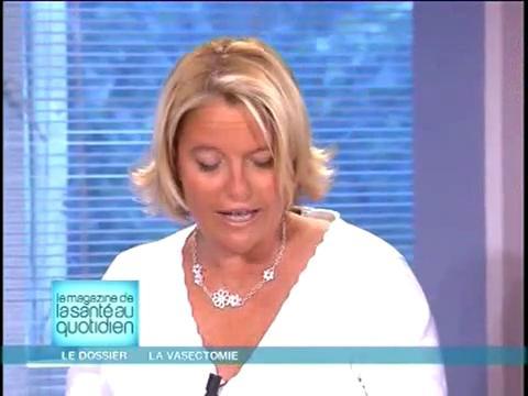 Marina Carrère d'Encausse et Michel Cymes expliquent la vasectomie.
