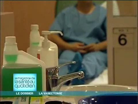 L'opération de la vasectomie