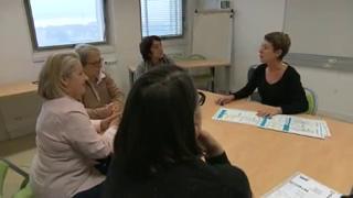 Les patients du CHU de Nantes participent à un atelier thérapeutique. Objectif : prévenir les risques d'une nouvelle sciatique en adoptant de bonnes habitudes