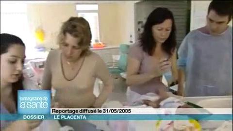Si vous voulez voir un placenta de plus près, cliquez sur cette vidéo