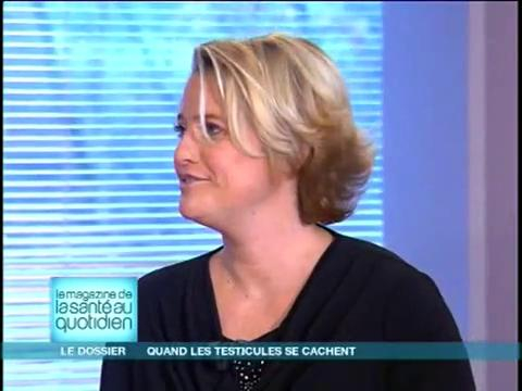 Marina Carrère d'Encausse et Michel Cymes décrivent les conséquences de l'ectopie testiculaire.