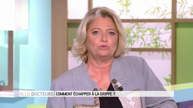 Marina Carrère d'Encausse et Philippe Charlier expliquent la transmission du virus de la grippe