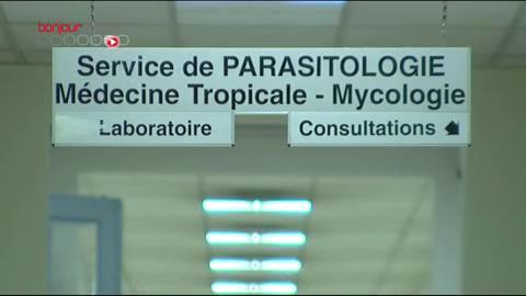Hôpital Cochin, service de parasitologie et de mycologie où sont analysés tous les prélévements réalisés sur les patients