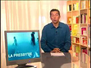 Michel Cymes explique la presbytie.