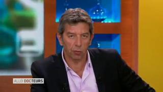 Marina Carrère d'Encausse et Michel Cymes explique l'andropause.