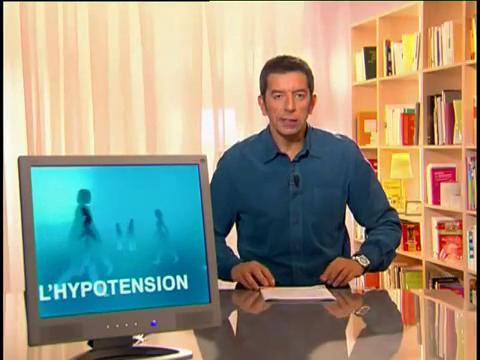 Michel Cymes explique l'hypotension.