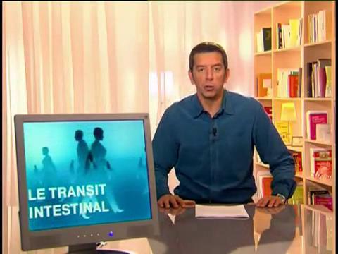 Michel Cymes explique le transit.