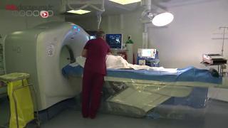 Traitement par radiofréquence d'une tumeur rénale