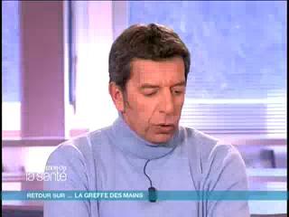 Denis, greffé des deux mains, répond aux questions de Michel Cymes (interview du 5 mars 2008).