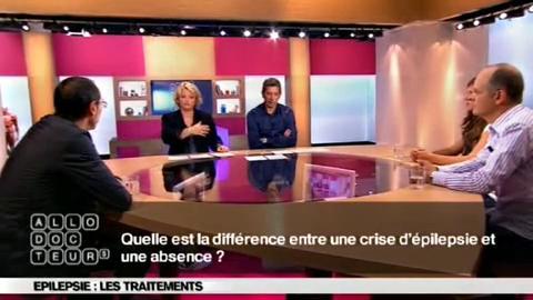 Le Pr. Philippe Kahane, neurologue au CHU de Grenoble, commente des images des différents types de crises.