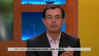 Marina Carrère d'Encausse et Benoît Thevenet expliquent la fécondation in vitro