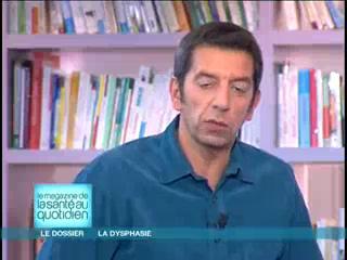 Marina Carrère d'Encausse et Michel Cymes expliquent la dysphasie.