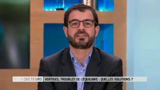 Marina Carrère d'Encausse et Benoît Thevenet expliquent les vertiges.