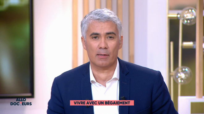 Marina Carrère d'Encausse et Régis Boxelé expliquent le bégaiement