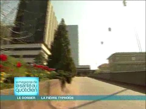 La majorité des cas de fièvre typhoïde en France sont des voyageurs ayant séjourné dans un pays à risque.
