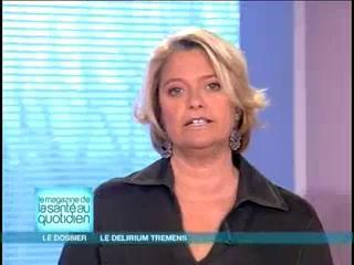 Marina Carrère d'Encausse et Michel Cymes expliquent le delirium tremens.