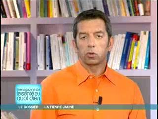 Marina Carrère d'Encausse et Michel Cymes expliquent la fièvre jaune.