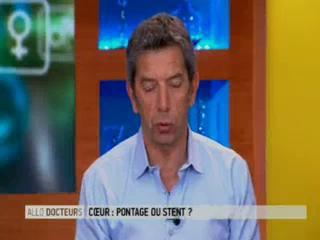 Marina Carrère d'Encausse et Michel Cymes expliquent ce qu'est une sténose.