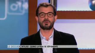 Marina Carrère d'Encausse et Benoît Thevenet expliquent le vitiligo.