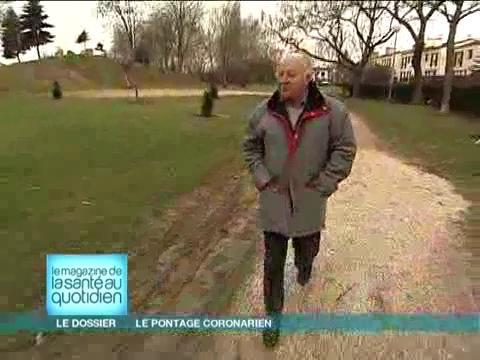 Après un infarctus, Jean-Claude a bénéficié d'un pontage coronarien.