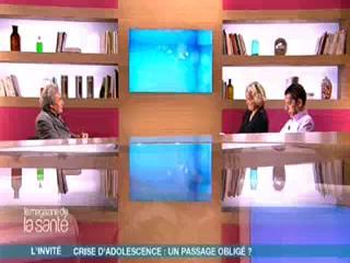 Entretien avec Michel Fize sur le plateau du Magazine de la santé, avec Marina Carrère d'Encausse et Michel Cymes (21 octobre 2009)