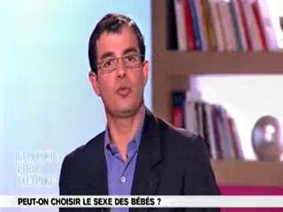 Marina Carrère d'Encausse et Benoît Thevenet expliquent comment est déterminé le sexe des bébés.