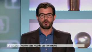 Marina Carrère d'Encausse et Benoît Thevenet expliquent le pied-bot