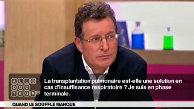 Insuffisance respiratoire : une transplantation pulmonaire?