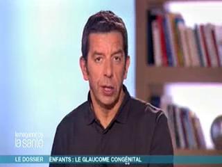 Marina Carrère d'Encausse et Michel Cymes expliquent le glaucome congénital.