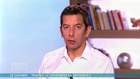 Michel Cymes et Benoît Thevenet expliquent la kyphoplastie.