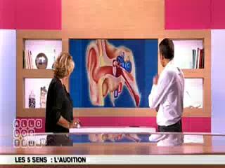 Marina Carrère d'Encausse et Michel Cymes expliquent l'audition.